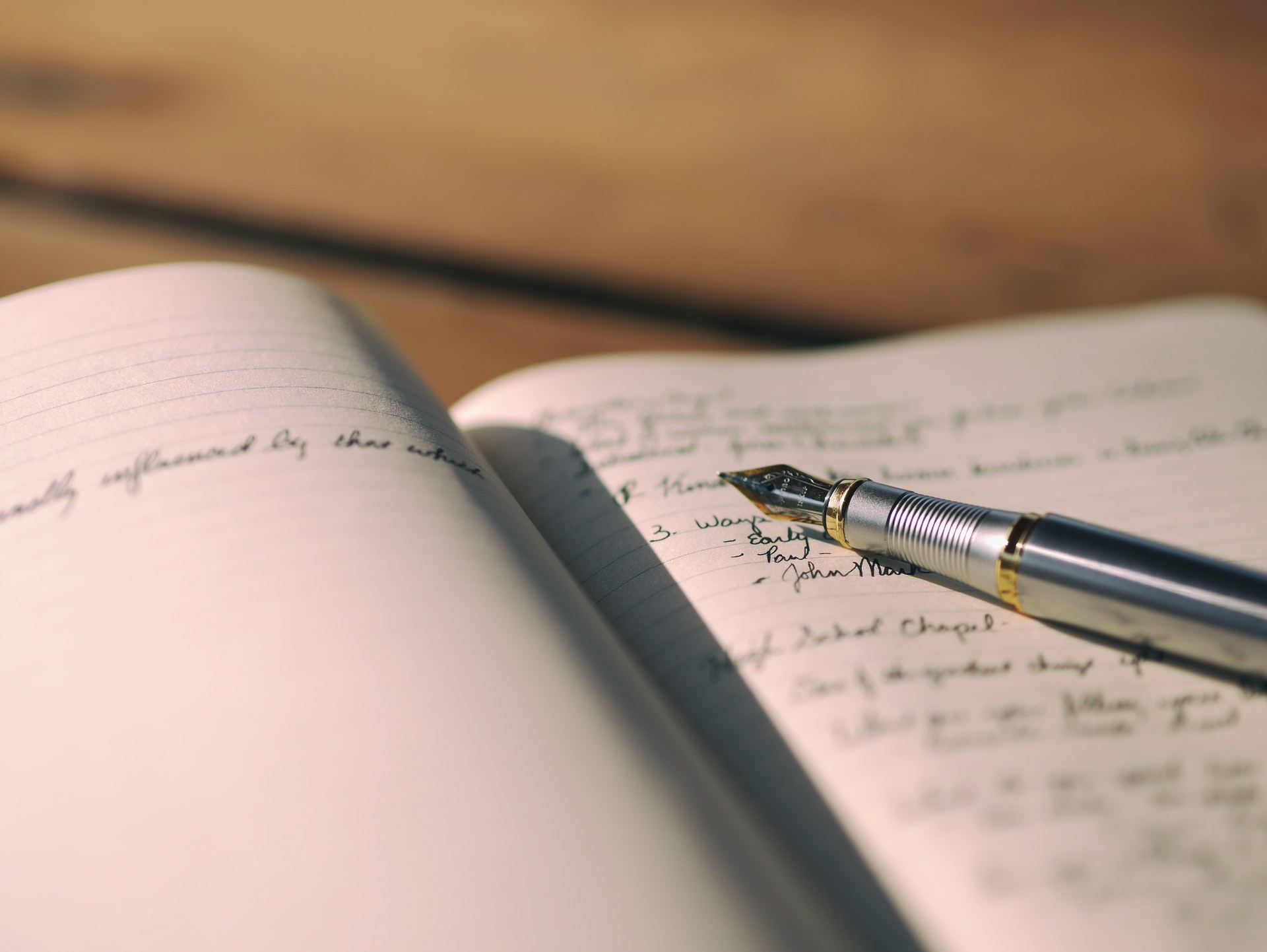 Journaling to improve your life